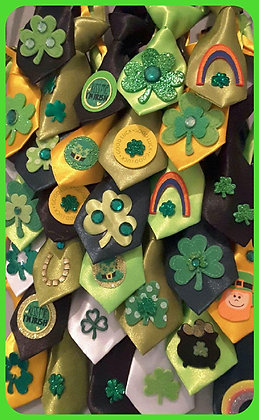 St. Patty's embellished neckties (Set of 5)