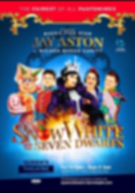 2019 Queens Theatre Barntaple pantomime.