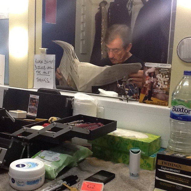 John Challis inn his dressing room.jpg