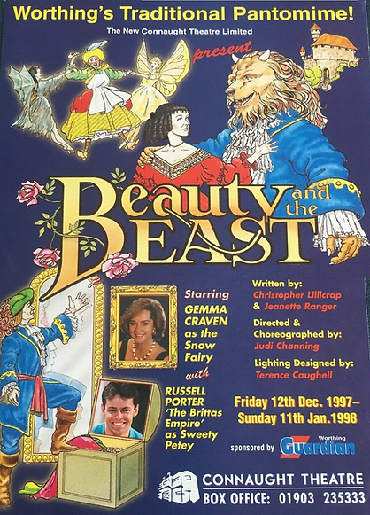 1997 Connaught Theatre Worthing panto.pn