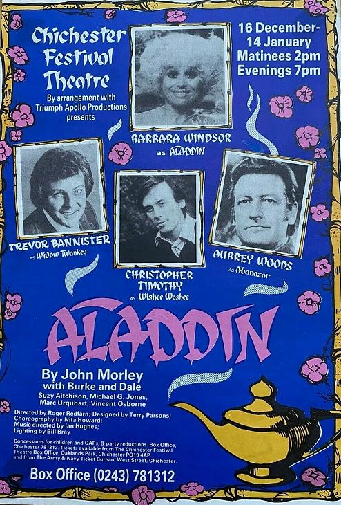 1983 Chichester Festival Theatre panto.p