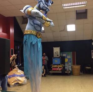Rehearsal room in Crewe for Aladdin.jpg