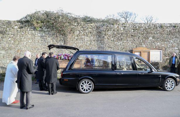June Whitefield's funeral.jpg