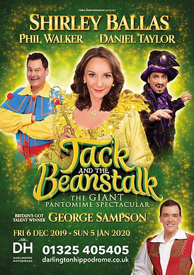 Darlington Hippodrome Jack and the Beans