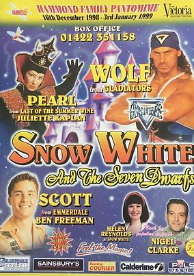 1998 The Victoria Theatre Halifax panto.