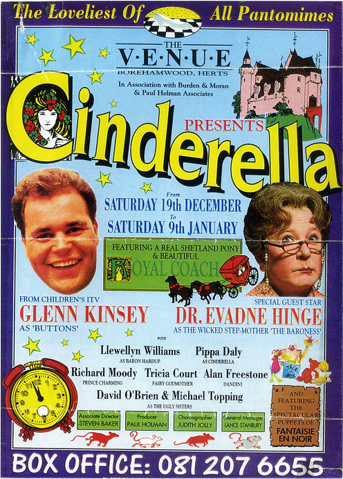 1991 The Venue Borehamwood panto.jpg