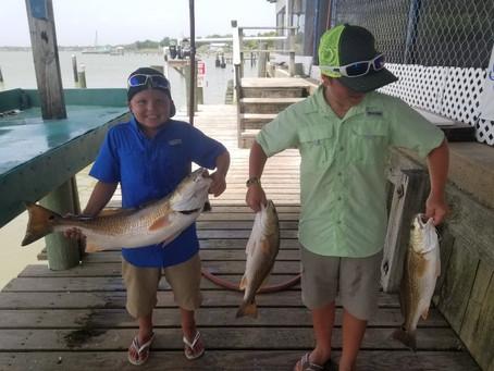 Fall Fishing, Redfish Starting starting to show!