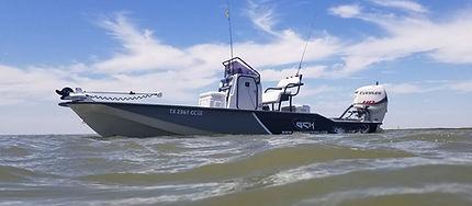 Gulf Coast King 23ft VS Texas boat