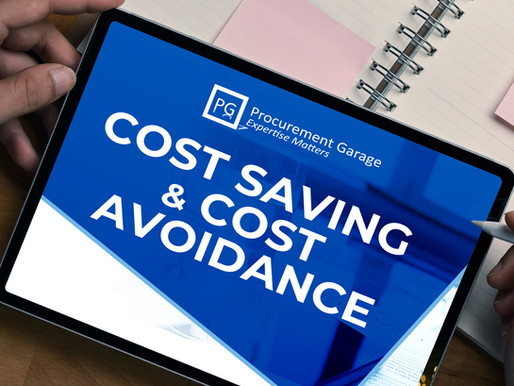 COST SAVING & COST AVOIDANCE