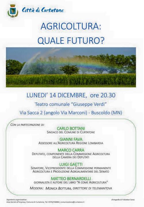 Agricoltura: quale futuro?