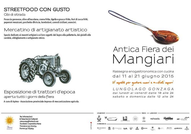 Trattori in esposizione a #Mantova!