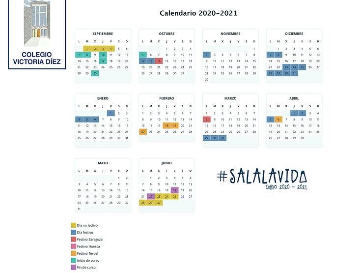 Calendario 2020-2021