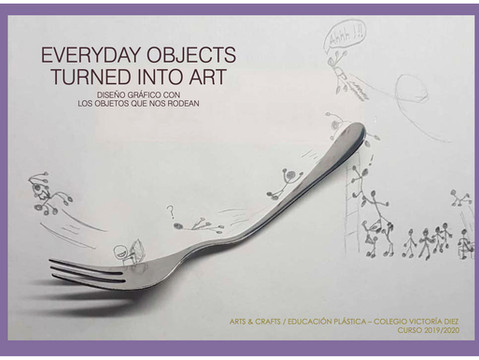 Everyday objects turned into art