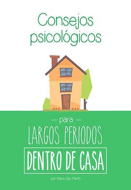 Cosejospsicológicospara largos periodos dento de casa
