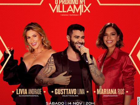 """Gusttavo Lima monta seu time e estrela o segundo episódio do reality show """"O Próximo Nº1 VillaMix"""""""