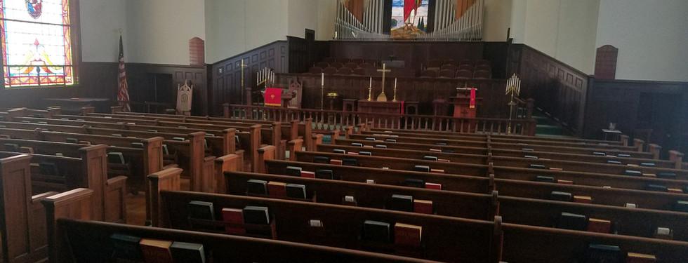 Carteret Street United Methodist Church; Beaufort