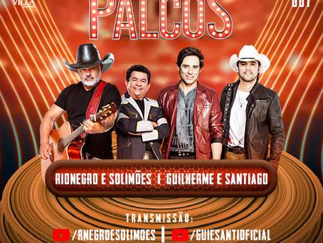 Rionegro e Solimoes e Guilherme e Santiago voltam juntos aos palcos