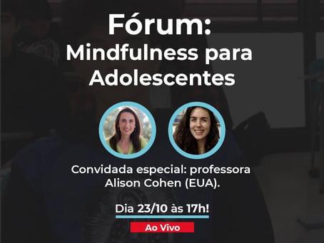 MindKids promove fórum gratuito sobre Mindfulness para Adolescentes