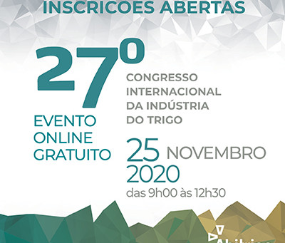 É AMANHÃ: Congresso do Trigo 2020 será online e gratuito