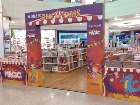 Shopping ABC celebra Dia Internacional do Livro