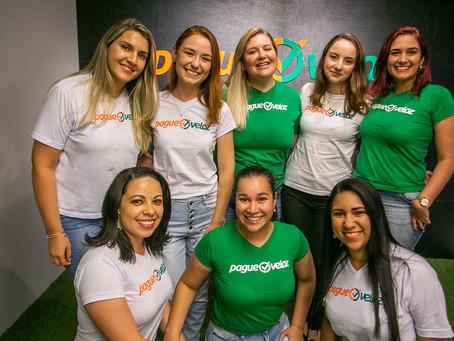 Nesta empresa de tecnologia, as mulheres são metade do time