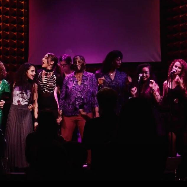 Joe's Pub Curtain Call with Annie Golden, Daphne Rubin Vega, Tonya Pinkins, Mj Rodriguez and other fabulous femme folks!