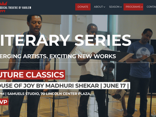 House of Joy by Madhuri Shekar | Staged Reading at Juilliard, with the Classical Theatre of Harlem