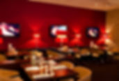 """Restaurant """"California Cuisine"""" famous for salads, pizza, burger, fish and desserts."""