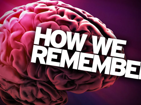 How We Remember - Part 1