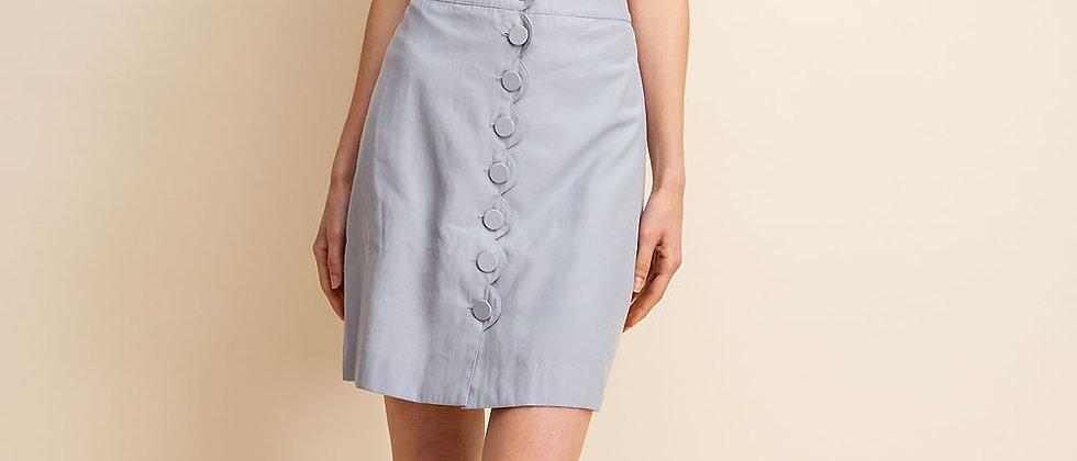 Scalloped Front Skirt