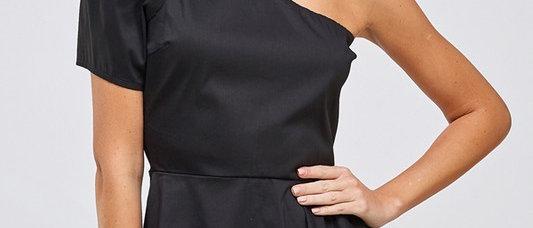 One Shoulder Asymmetric Top