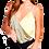 Thumbnail: V-Neck Crossover Color Block Bodysuit