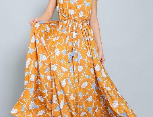 Yellow Sleeveless Dress