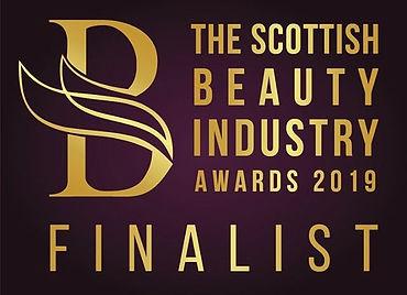 Scottish Beauty Industry Awards Finalist