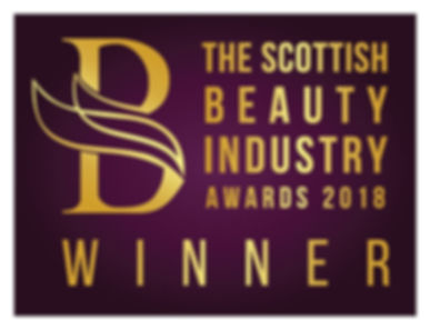 The Scottish Beauty Industry Awards Winner 2018