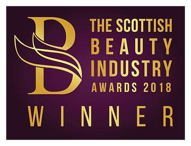 The Scottish Beauty Industry Awards Winner 2018