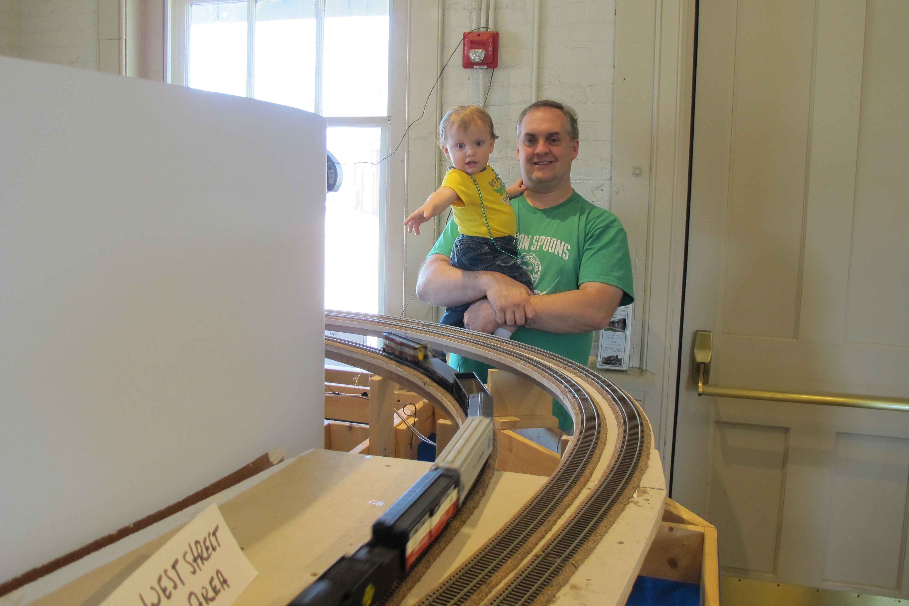 Watching the model train