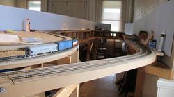 The Hub of Hornell model track