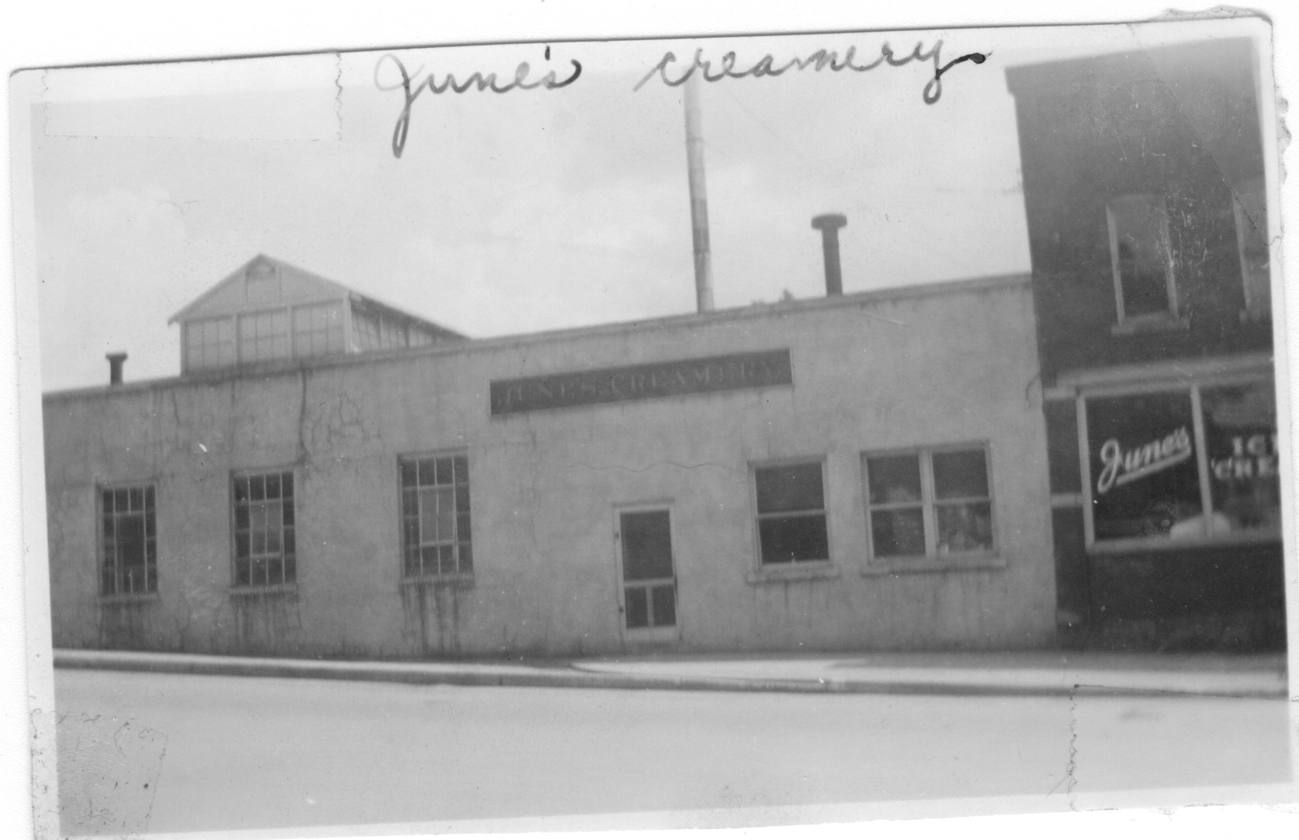 June's Creamery 303-305 Main St
