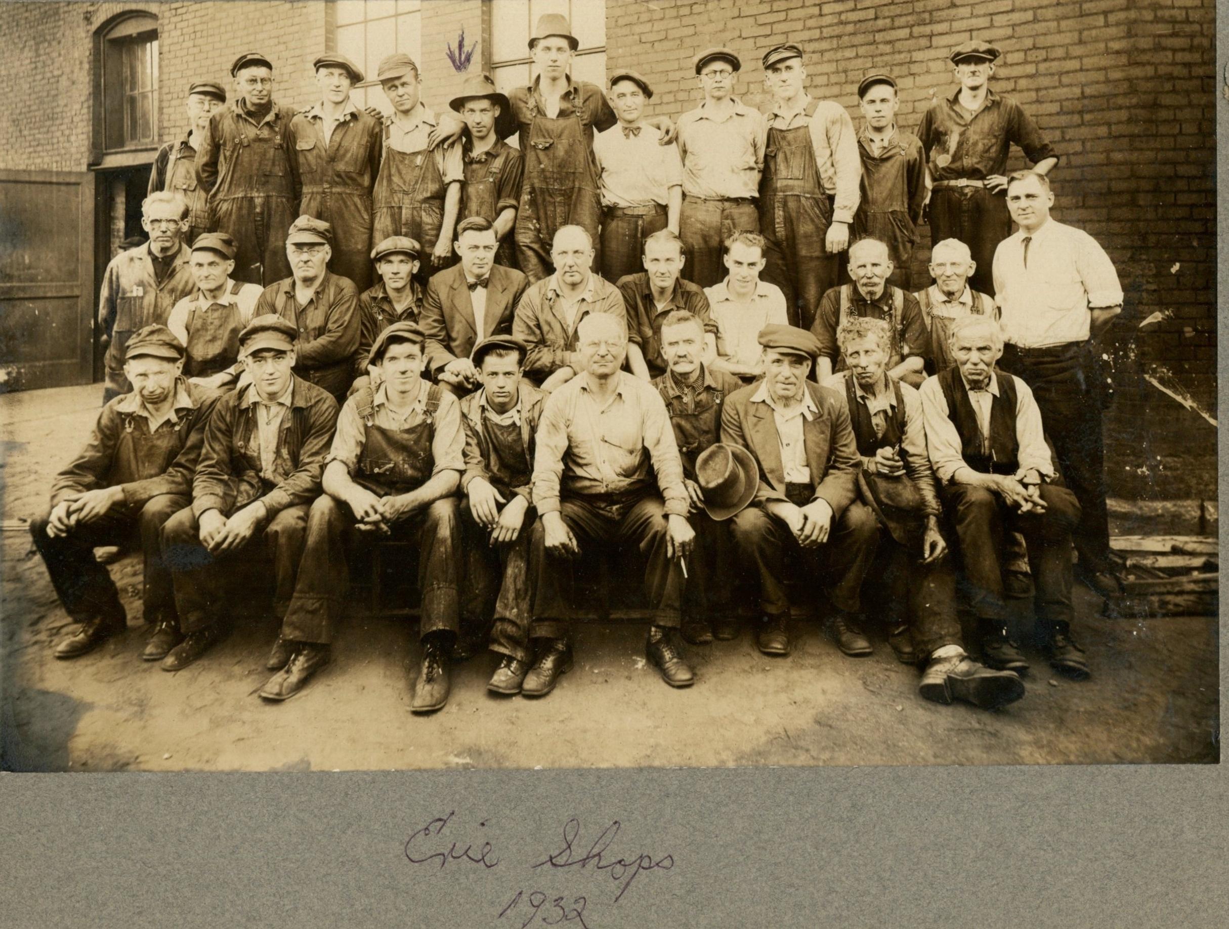 Erie Shop 1932