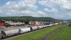 train through Hornell