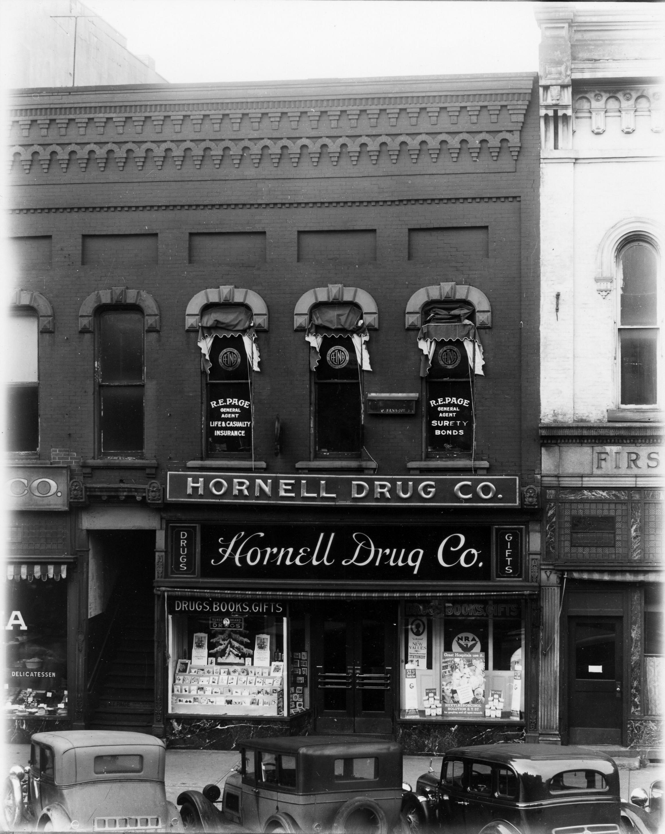 Hornell Drug Co. 124 Main St