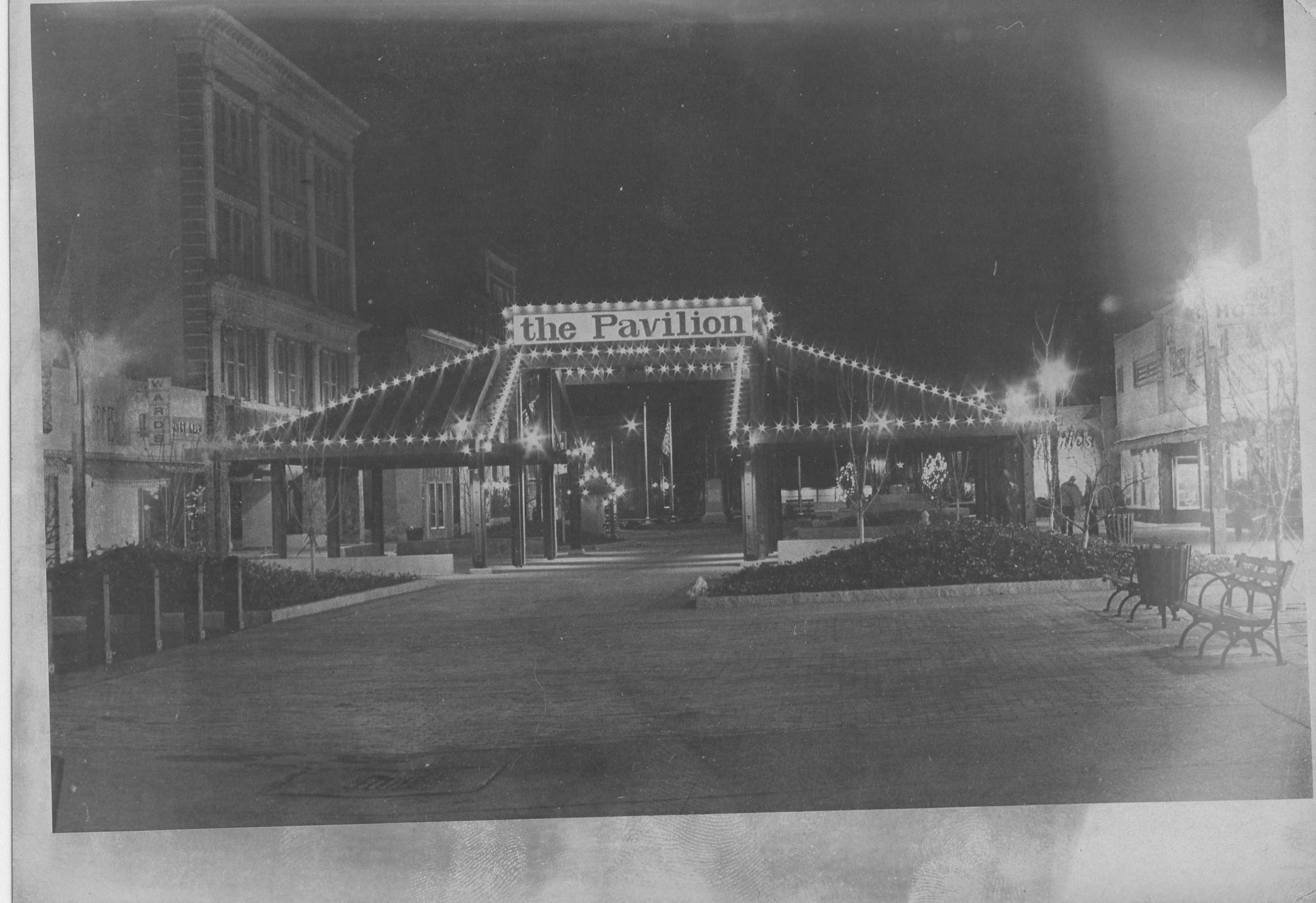 The Broadway Mall Pavilion