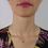 Thumbnail: Collana con Pendente Fiore in Oro e Diamanti Naturali