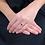 Thumbnail: Anello Oro Diamanti Naturali e Zaffiro Naturale
