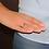 Thumbnail: Anello Oro Diamanti Naturali e Rubino Sintetico