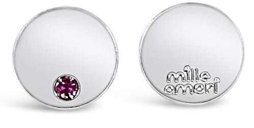 Orecchini  Personalizzabiliin argento Sterling 925 massiccio e Rubino Naturale