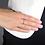 Thumbnail: Anello Oro e Diamanti Naturali Neri Stackable