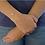 Thumbnail: Bracciale regolabile con Perla Passante in Oro
