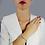 Thumbnail: Bracciale Charms Sterling Silver Argento massiccio 925 e Rubino naturale